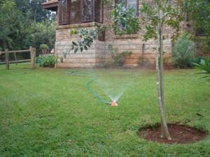 grey water irrigation
