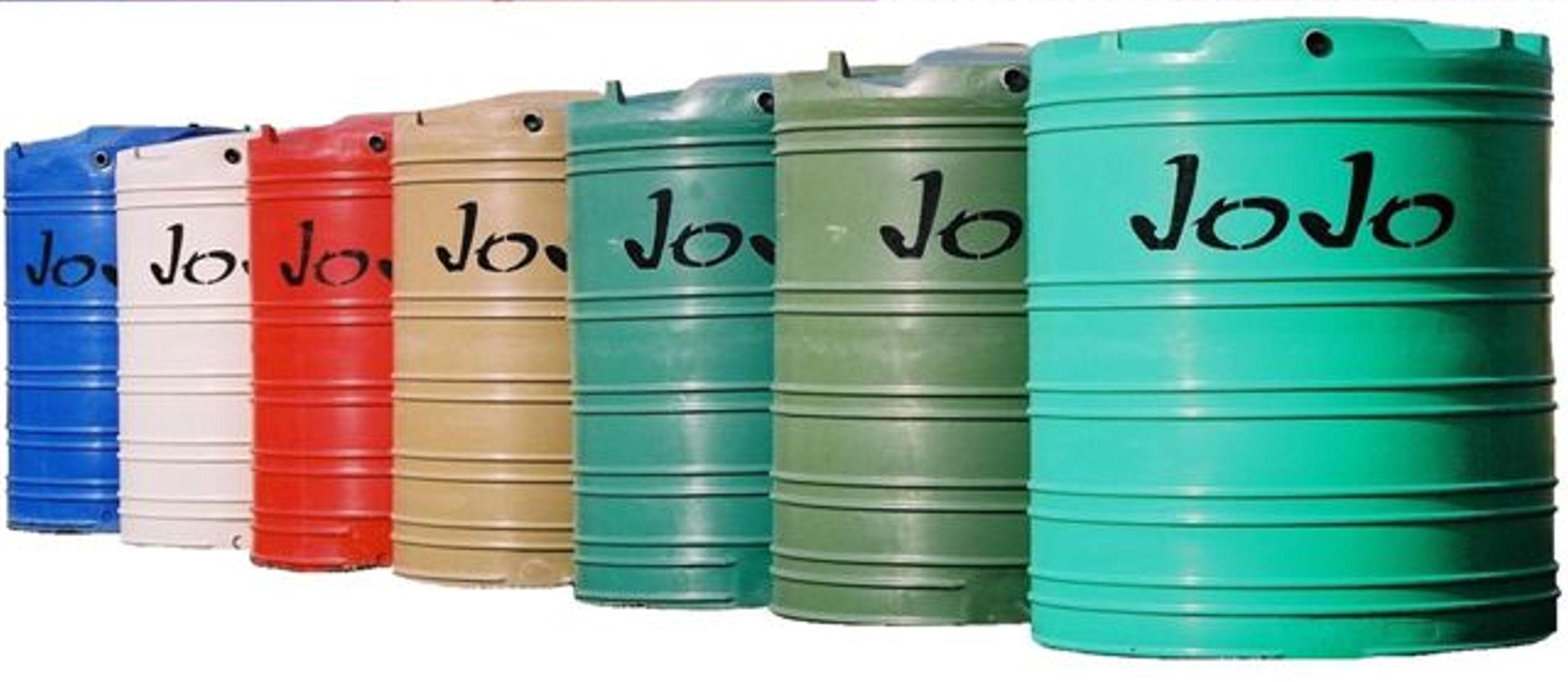JOJO TANKS 5000L Vertical Water Tank Green  makrocoza