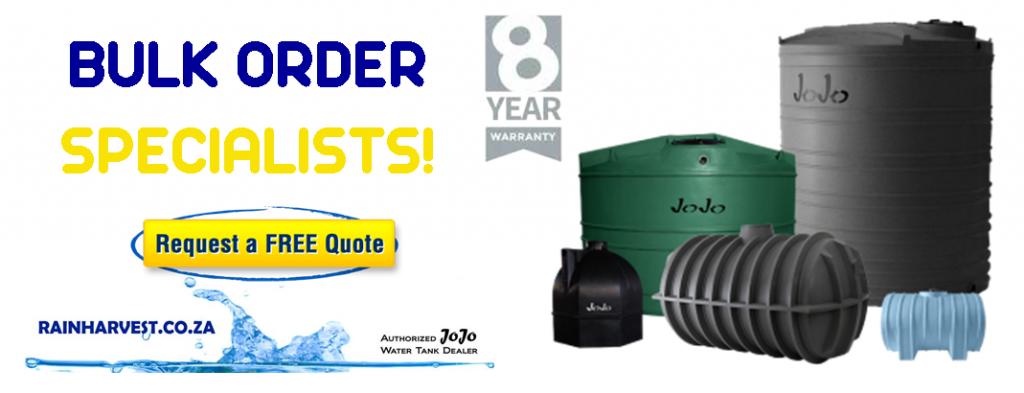 bulk order water tanks