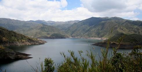 water supply to Bogota