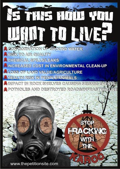 karoo shale gas fracking