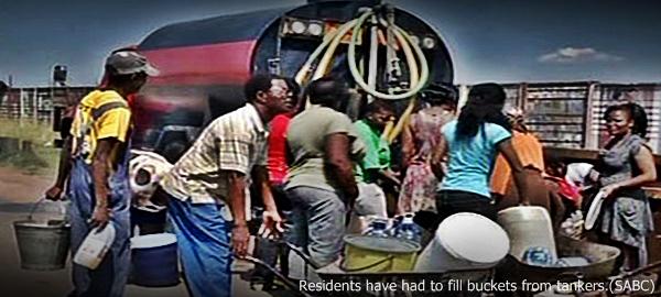 Port Elizabeth water shortage