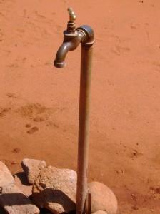 no running water