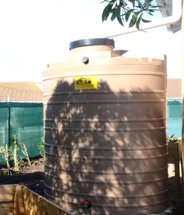 water tanks for storing rainwater