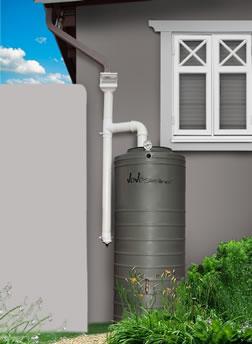 slimline 750 litre water tank