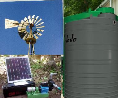 water tanks installation