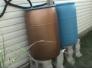 painting plastic rain barrels