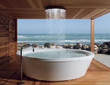 rain water bath