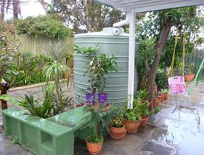 jojo plastic rainwater tank