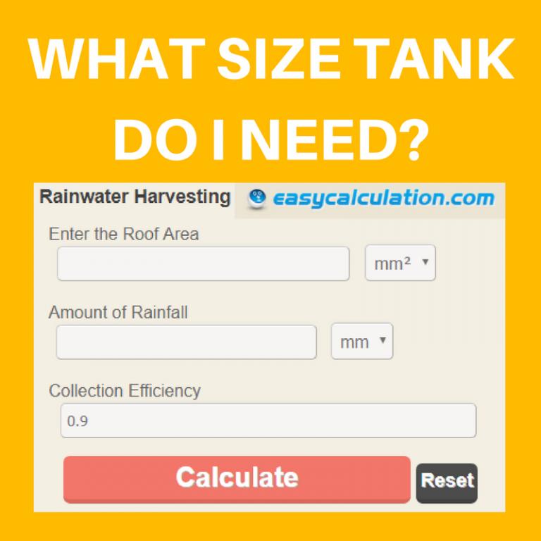 Rainwater Harvesting Calculator - South Africa   Rainharvest co za