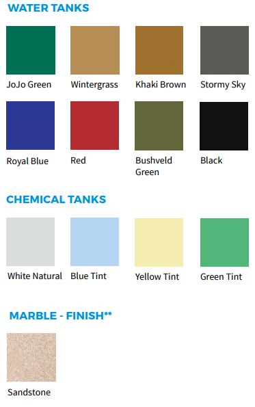 jojo tank colours