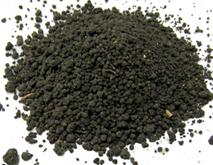 dried sewage sludge