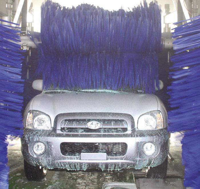 green car wash