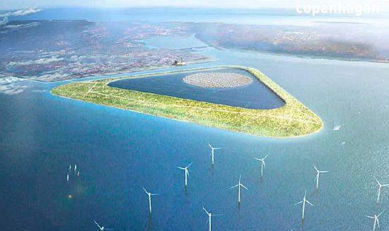 green power island