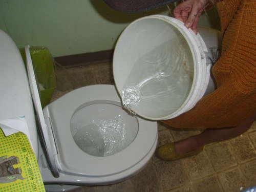 greywater for toilet flushing