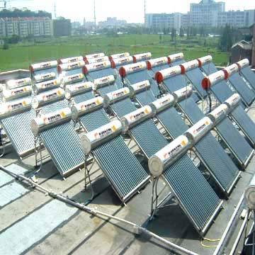 solar water geysers, solar water heating