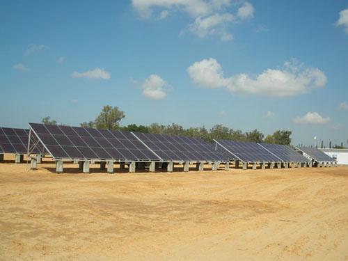 Libyan solar energy facility