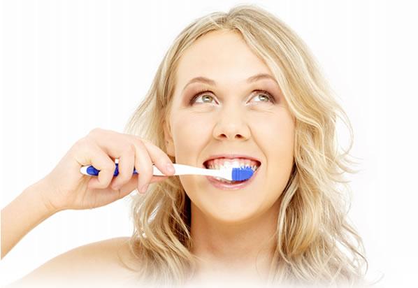save water when brushing teeth