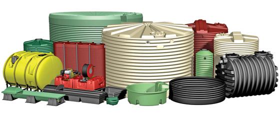 types of water tanks