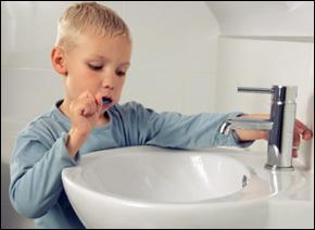water saving tips for children