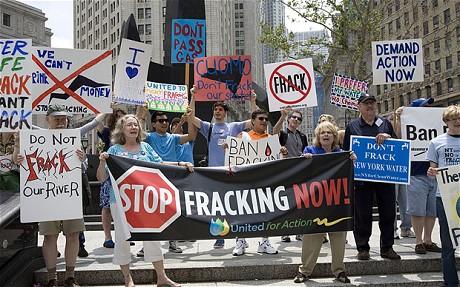global fracking protests
