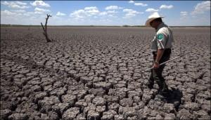 USA Texas drought