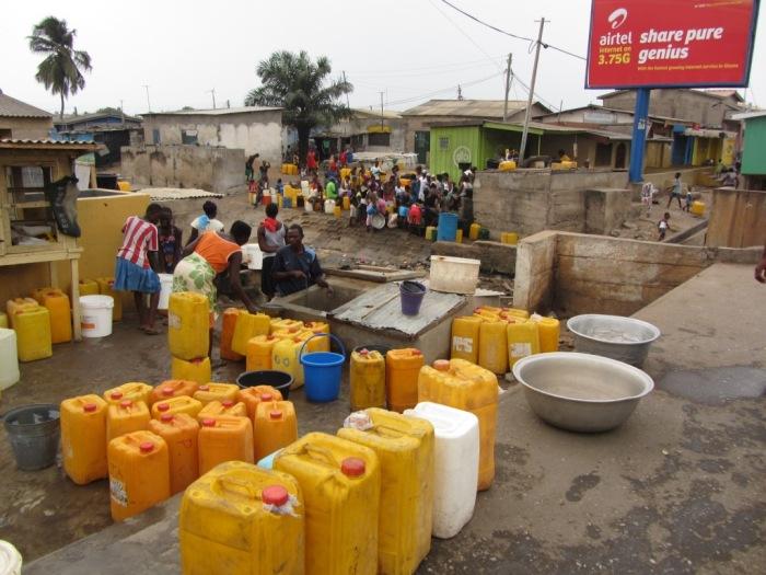 water shortages cripple African economies