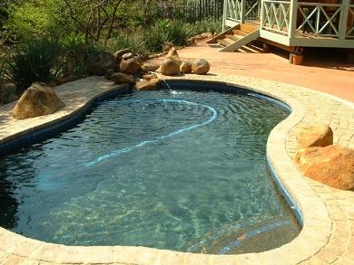 rainwater for swimming pools