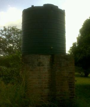 brick water tank stand