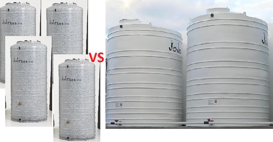 JoJo vertical water tanks south africa
