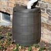 rain barrels installation