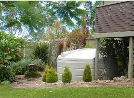 concealing water tanks