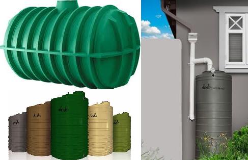 poly storage tanks