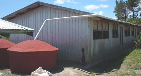 water tanks at school