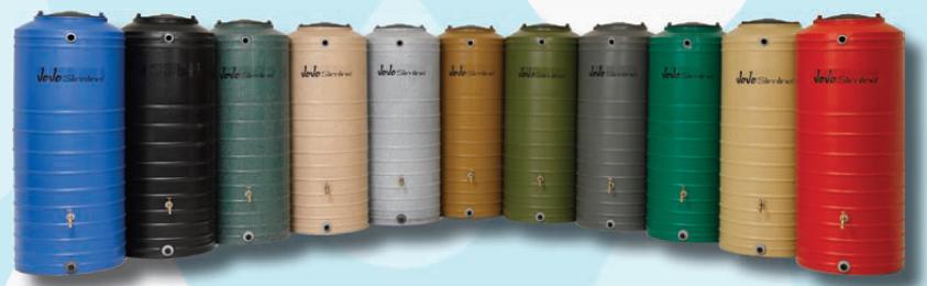 jojo slimline rainwater tanks