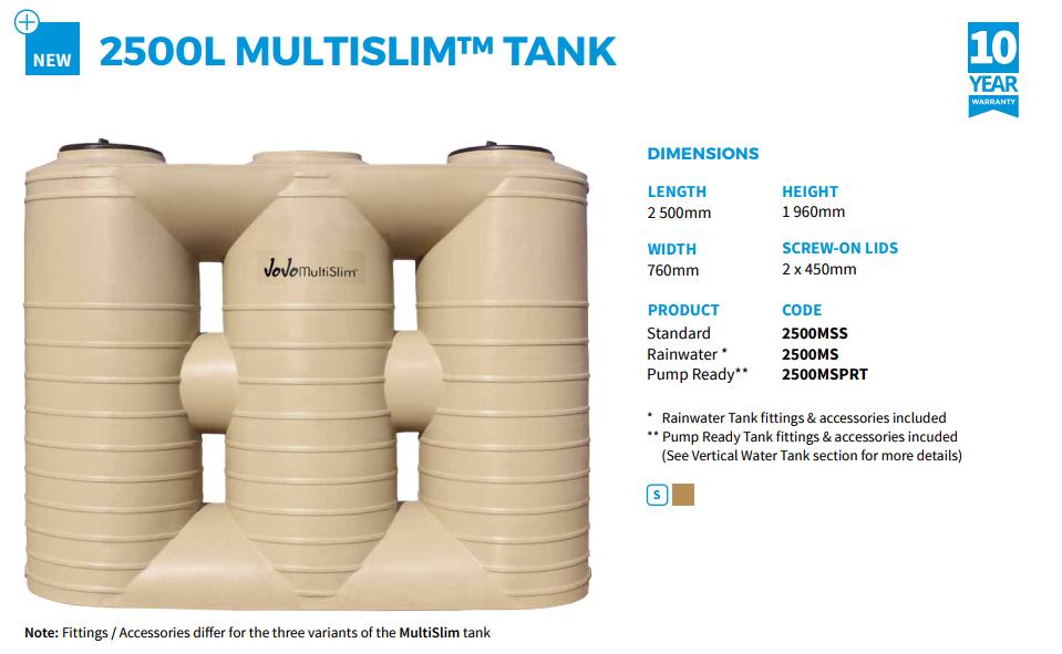 jojo multislim tank